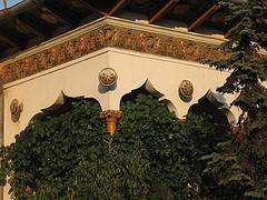 Casa Lahovary detalle porche