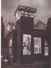 Pavellón de la Industria del Cristal Exposición Industria Rumana 1934